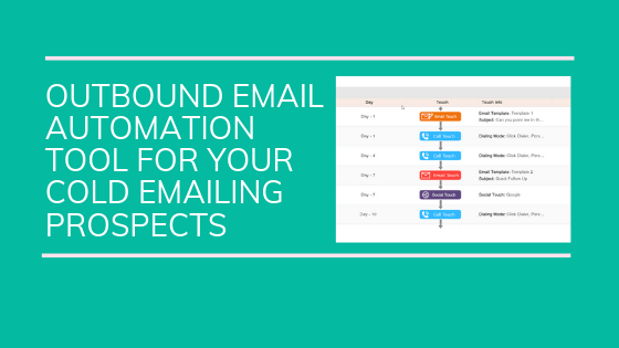 outbound email automation tool